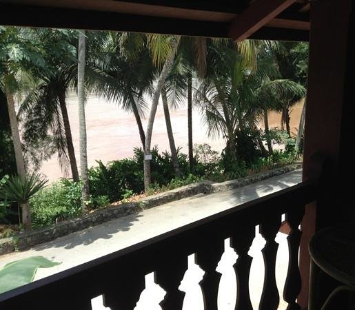 Mekong Riverview Hotel: view from our balcony