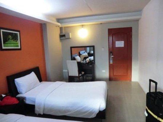 Centric Place Hotel: お部屋です