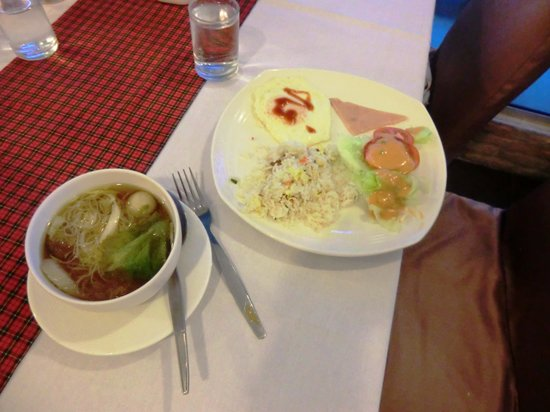 Centric Place Hotel: 朝食だよ