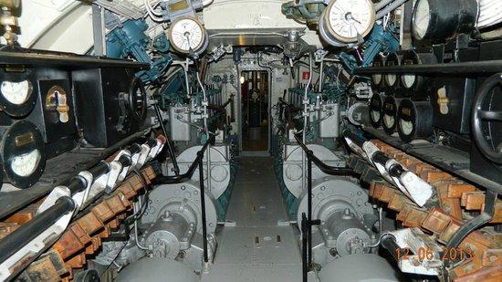 Submarine Vesikko: В отсеках подлодки