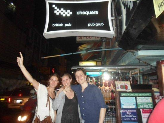 Chequers British Pub: The best bar 1