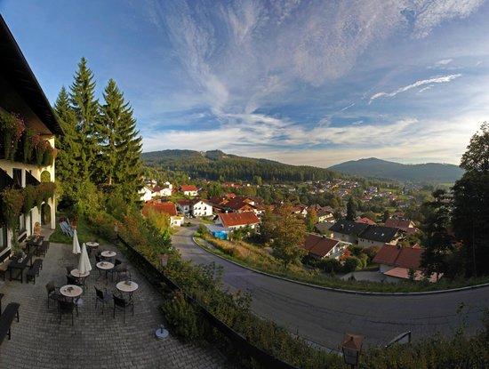 Villa Montara Bed & Breakfast: Stunning views from the Chalet