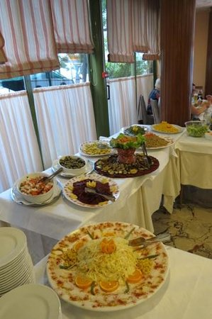 Ambrosiano Hotel: fabulous food!