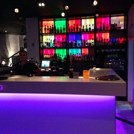 Restaurante Aqa: Aqa läckra bar.