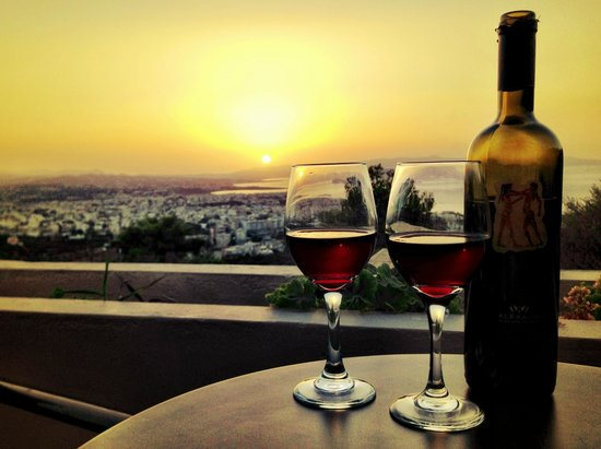 Royal Sun Hotel: Wine and View