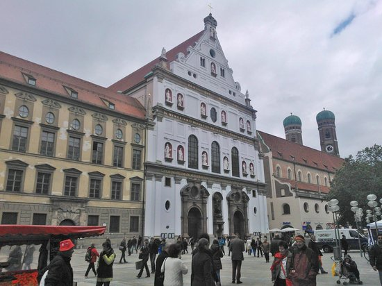 Michaelskirche: Front