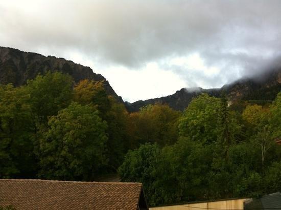 Au Gai Soleil du Mont Aiguille: vue de notre chambre