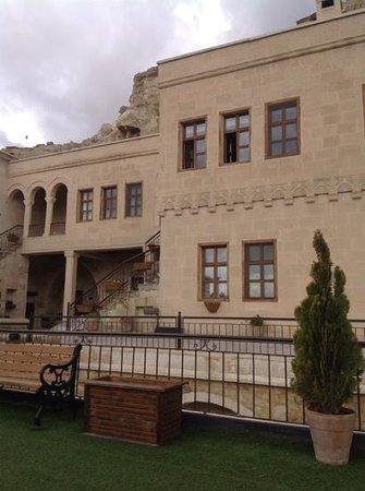 Fresco Cave Suites & Mansions : terası