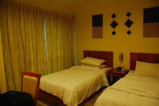 Ariva Gateway Kuching: twin bed