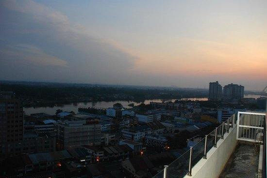 Ariva Gateway Kuching: view from the top floor