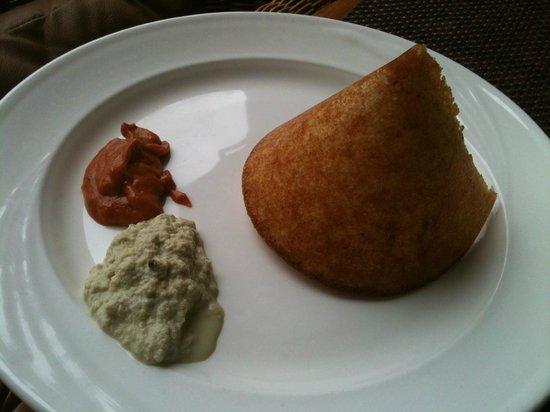 The Lalit Ashok: local breakfast