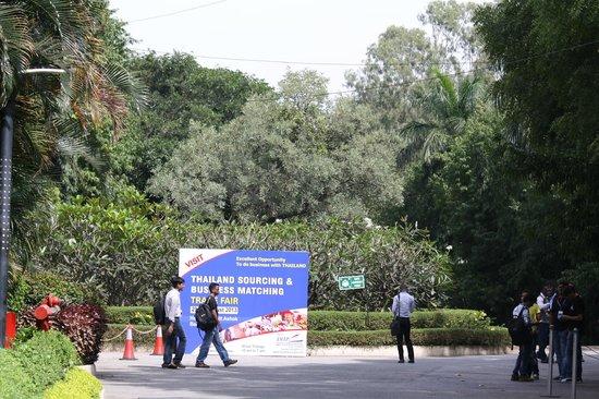 The Lalit Ashok: exhibition area
