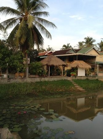 Meas Family Homestay: View from the other side of our homestay