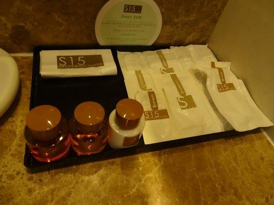 S15 Sukhumvit Hotel: アメニティ類