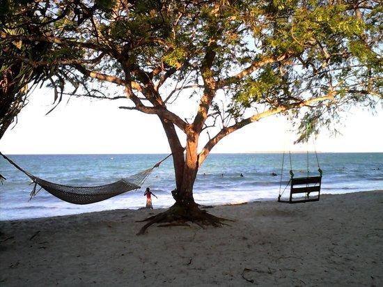 Mikadi Beach: Amaca sulla spiaggia