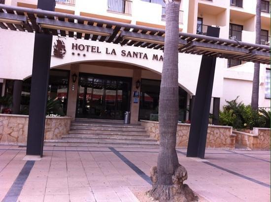 Smartline La Santa Maria: entrance