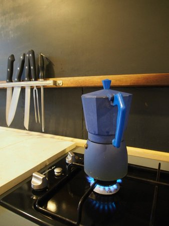 Palazzu Stidda: Küche