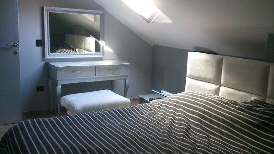 Hotel Per Astra: спальная комната (фрагмент)