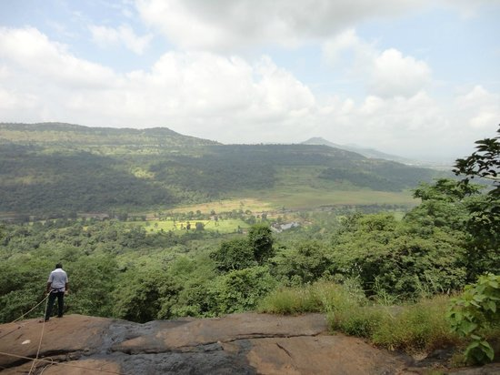 Dr Modi's Resort: View from mountain top