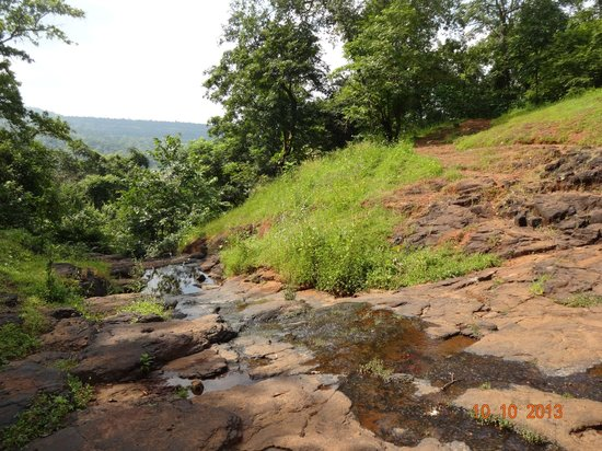 Dr Modi's Resort: River Bed - while coming down the mountain