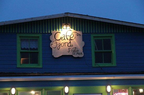 Cafe Du Fjord Enr : schöne Abendstimmung