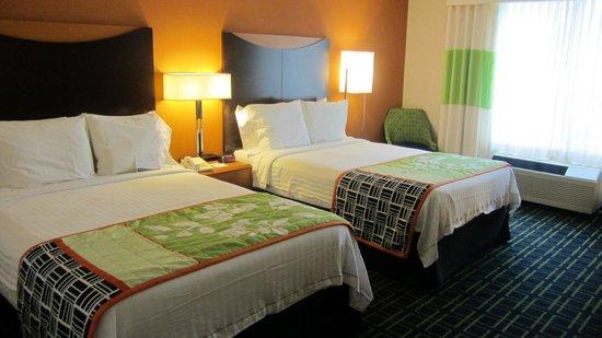 Fairfield Inn & Suites Salt Lake City Airport : gebuchtes Zimmer