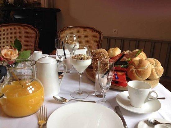 Kasteel Wittem : Breakfast