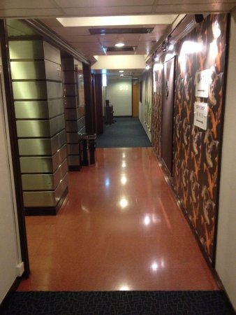 Lift lobby at level 1 - Picture of Evergreen Hotel, Hong