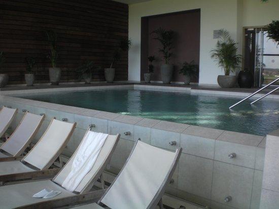 La Gree des Landes: la piscine à débordement