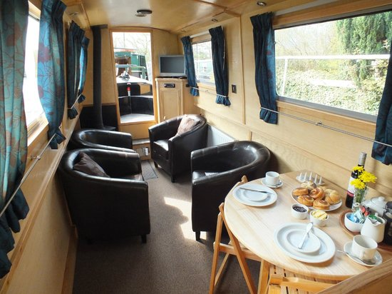 Anglo Welsh Dayboat Hire: A home from home!