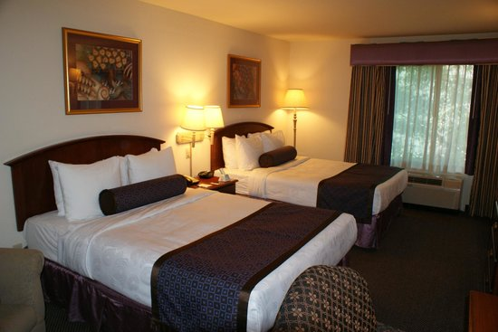 BEST WESTERN Coyote Point Inn : Zimmer