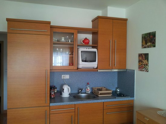 Aparthotel City 5 : Кухонный уголок