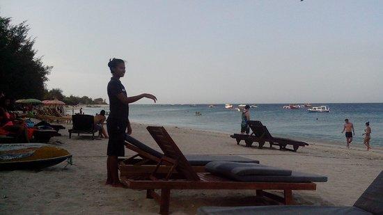 Trawangan Dive Resort: Lovely staff