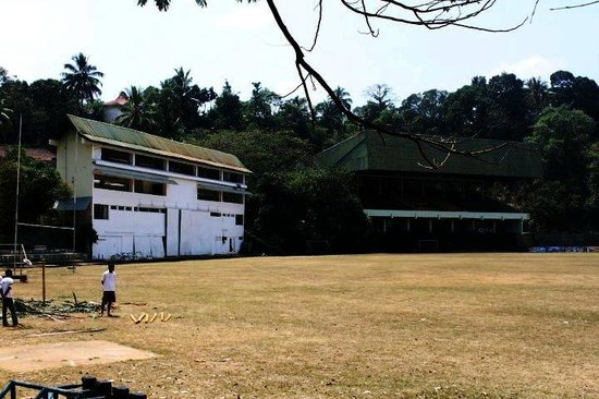 Asgiriya Stadium: The New Pavilion & the Side screen / Media box