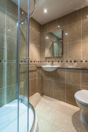 The Griffin : Double rooms bathroom