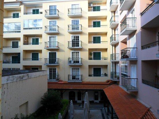 سيريوس: vista do terraço do quarto