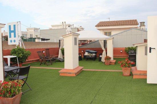 Hotel Vila Mar: терраса на крыше