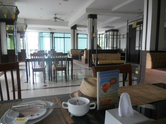 Krabi Palm Paradise Resort : Le restaurant