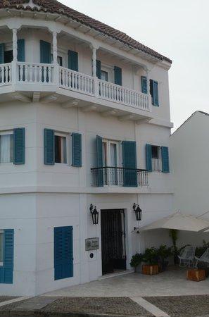 Bovedas de Santa Clara Hotel Boutique: Front of hotel