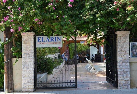 Elarin Studios & Apartments : from the street