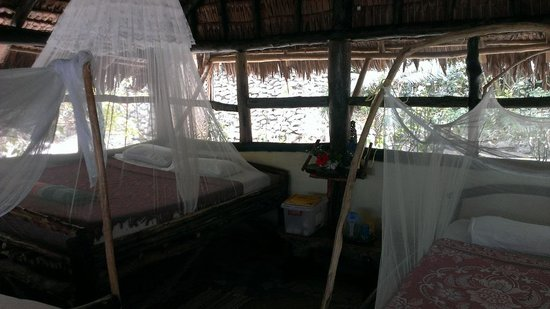 Tranquillity Island Resort & Dive Base: Inside Fale 3