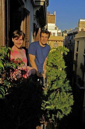 El Balcon del Born: Tomas y Pablo