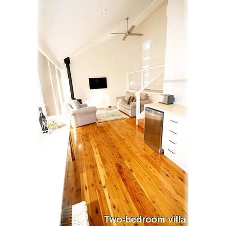 Wine Country Villas : Taken from the kitchen of a two-bedroom villa, you can see the villas are spacious, light &airy.