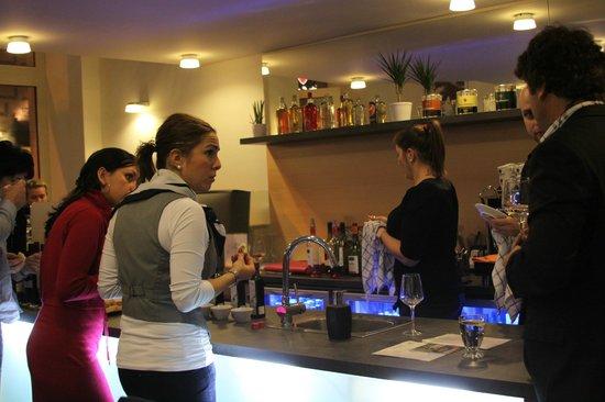Lamborghini caffe : The bar look