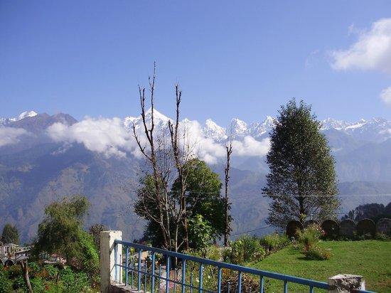 KMVN Tourist Rest House Munsiyari Hill Station: Panchachulli from Room