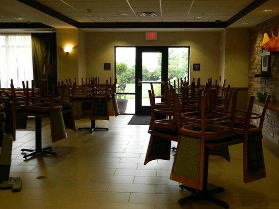 Hampton Inn Elmira/Horseheads: Breakfast Room