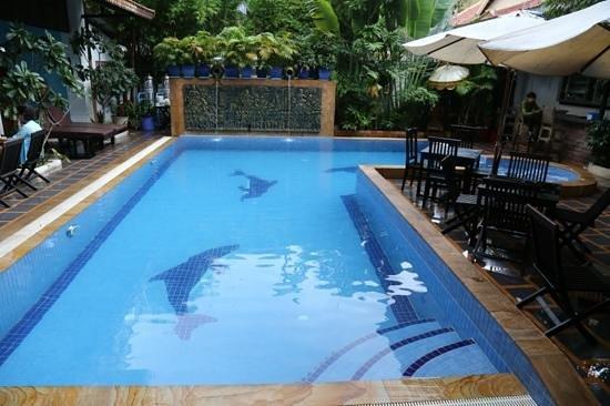 Tan Kang Angkor Hotel: Swimming Pool