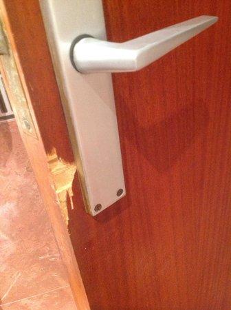 Hotel Can Fisa: Puerta