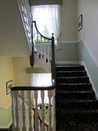 Gabriel House B&B: Treppengang (kein Lift vorhanden )