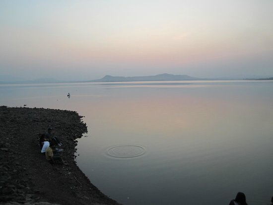 Sun set at Gangapur Dam